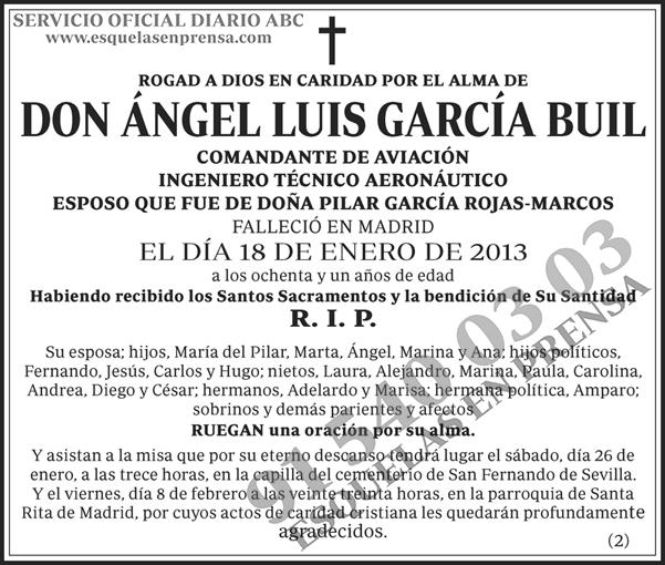 Ángel Luis García Buil